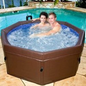 soft side hot tub